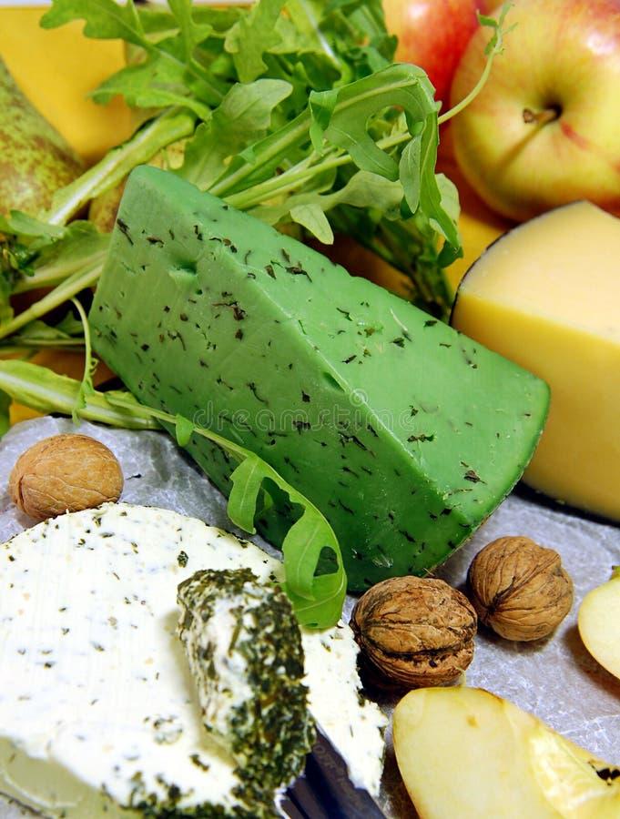 τυρί πράσινο στοκ φωτογραφίες