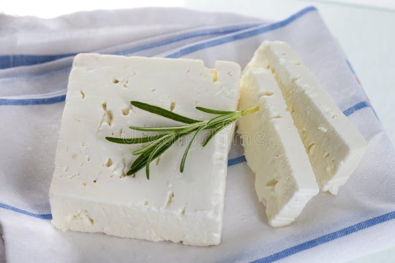 Τυρί φέτας στοκ εικόνα με δικαίωμα ελεύθερης χρήσης