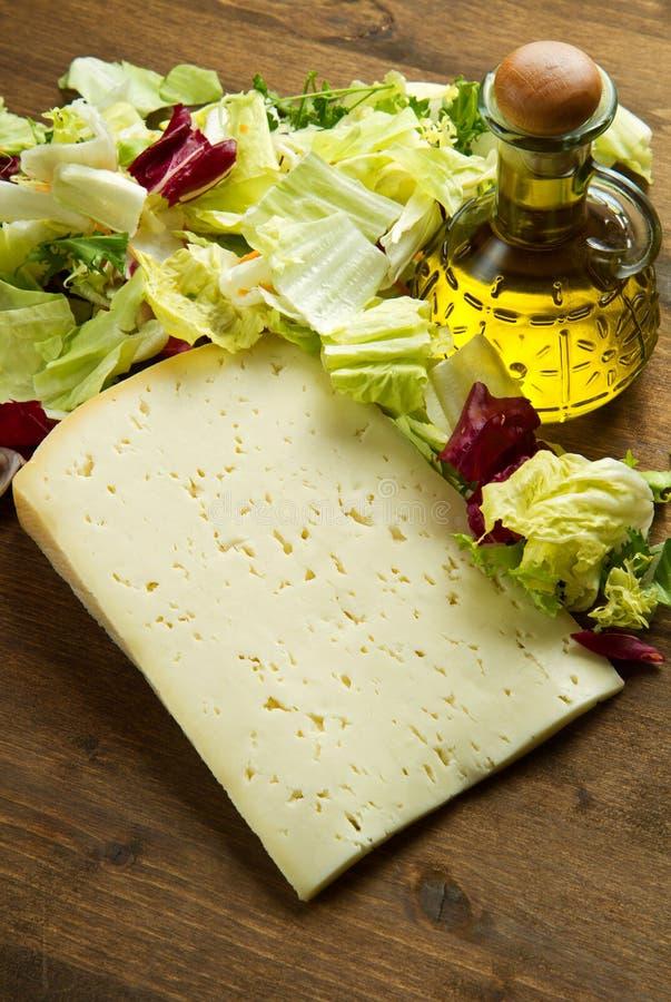 τυρί ASIAGO στοκ φωτογραφία