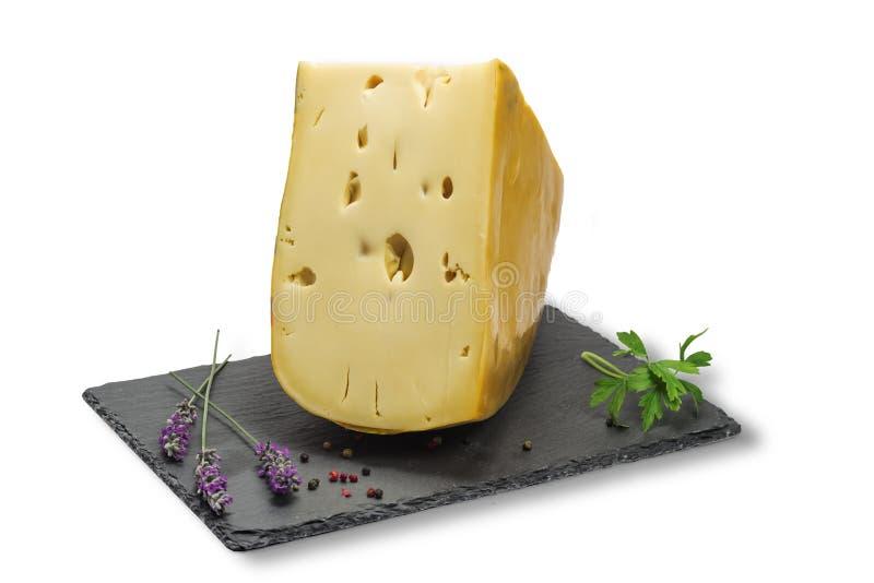 Τυρί Emmental στοκ εικόνες με δικαίωμα ελεύθερης χρήσης
