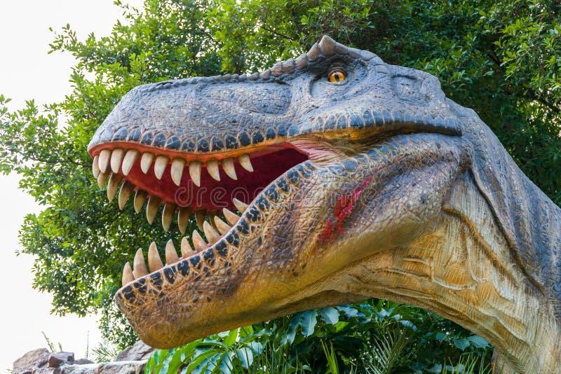 Τυραννόσαυρος ή δεινόσαυρος τ-Rex στοκ φωτογραφία με δικαίωμα ελεύθερης χρήσης