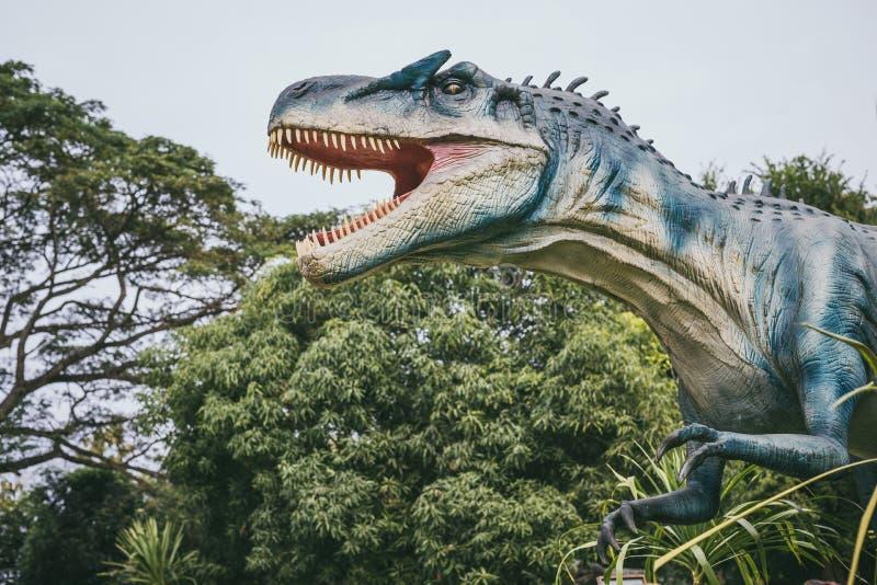 Τυραννόσαυρος - προϊστορικός δεινόσαυρος εποχής στοκ εικόνα