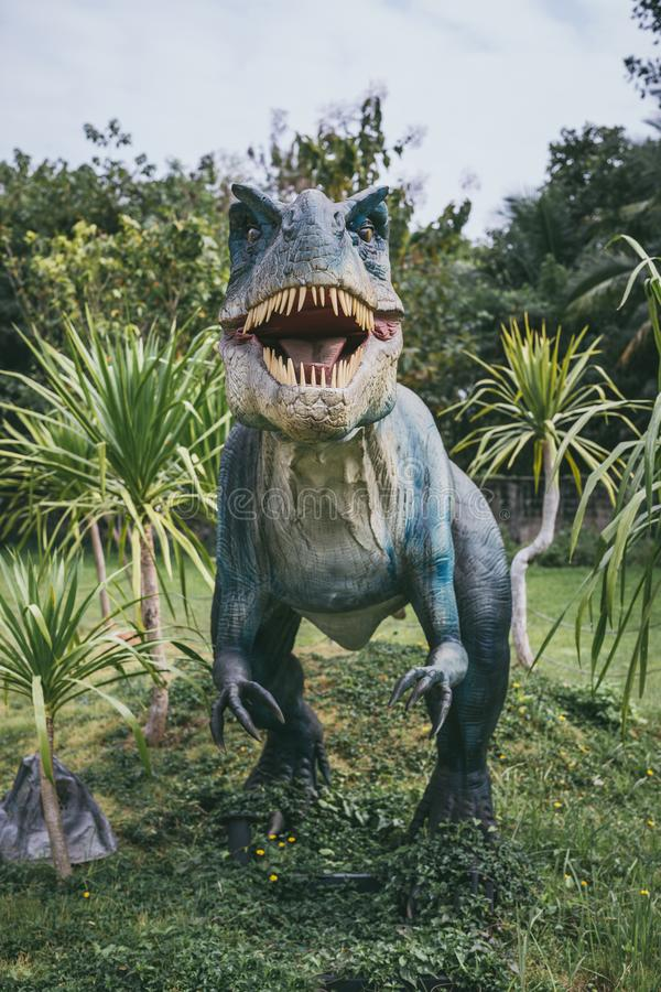 Τυραννόσαυρος - προϊστορικός δεινόσαυρος εποχής στοκ φωτογραφία με δικαίωμα ελεύθερης χρήσης