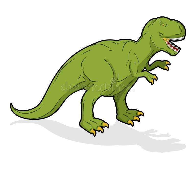 Τυραννόσαυρος Rex δεινοσαύρων Προϊστορικό ερπετό Αρχαίο predato ελεύθερη απεικόνιση δικαιώματος