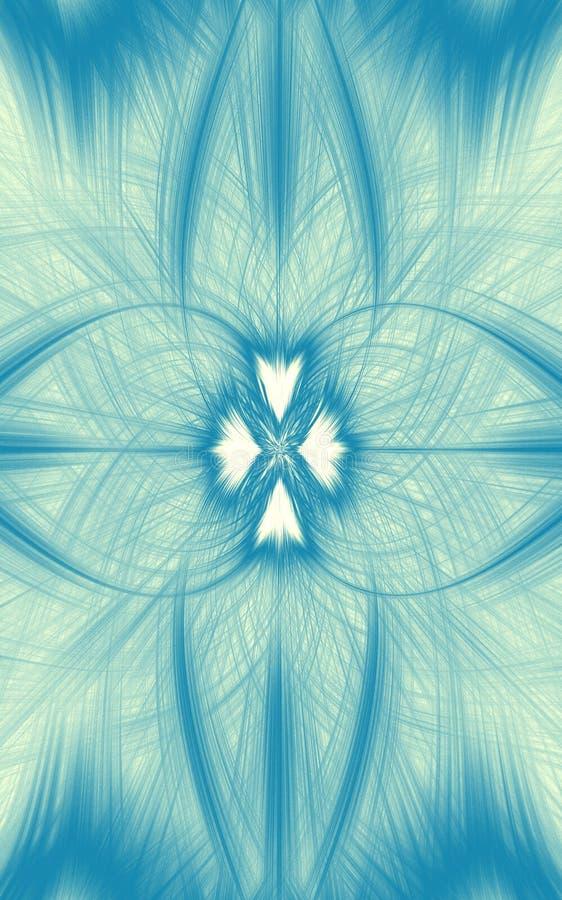 Τυρκουάζ μπλε περίληψη υποβάθρου θαμπάδων r ελεύθερη απεικόνιση δικαιώματος