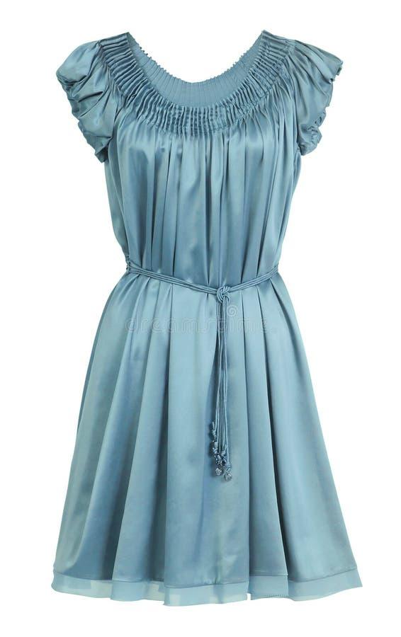 Τυρκουάζ φόρεμα στοκ φωτογραφία με δικαίωμα ελεύθερης χρήσης