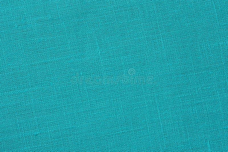 Τυρκουάζ backround - καμβάς λινού - φωτογραφία αποθεμάτων στοκ φωτογραφία με δικαίωμα ελεύθερης χρήσης