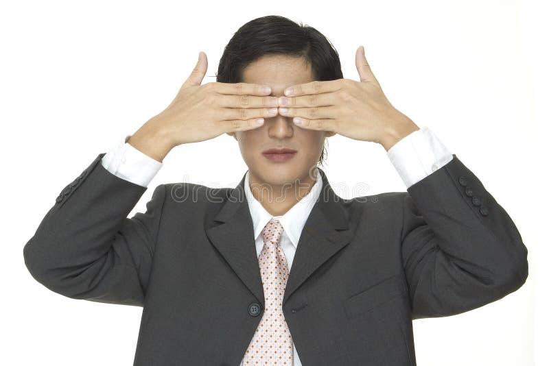 Download τυφλός στοκ εικόνα. εικόνα από ευφυής, μάτια, αρσενικό, σακάκι - 98637