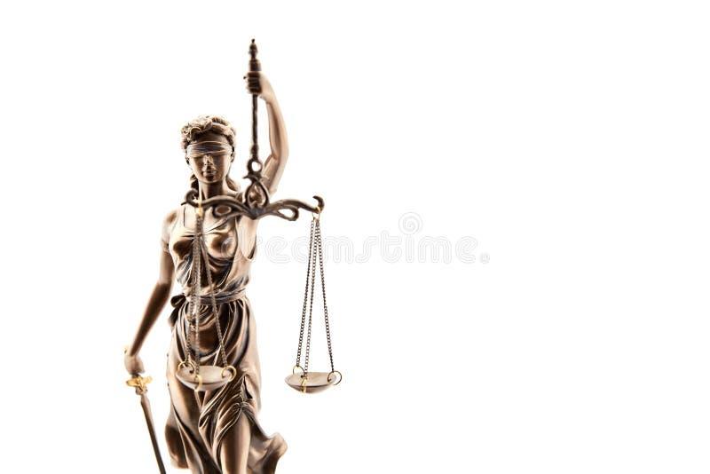 Τυφλό Justitia ως σύμβολο της δικαιοσύνης στοκ φωτογραφίες με δικαίωμα ελεύθερης χρήσης