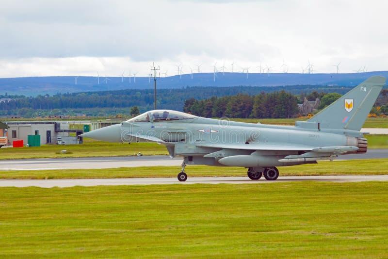Τυφώνας Ρ Α Φ eurofighter στοκ φωτογραφίες