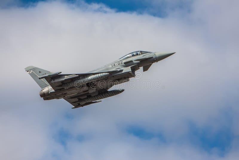 Τυφώνας DACT17 Eurofighter στοκ εικόνες με δικαίωμα ελεύθερης χρήσης
