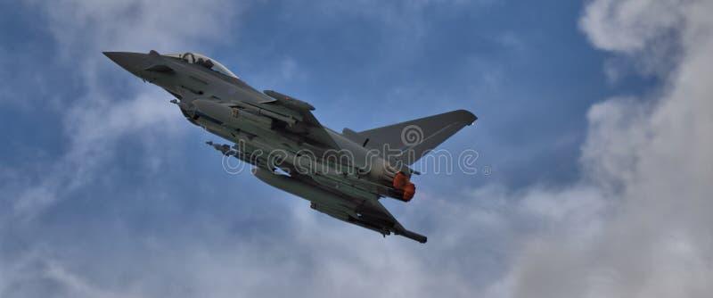 Τυφώνας Eurofighter afterburner στοκ φωτογραφίες με δικαίωμα ελεύθερης χρήσης