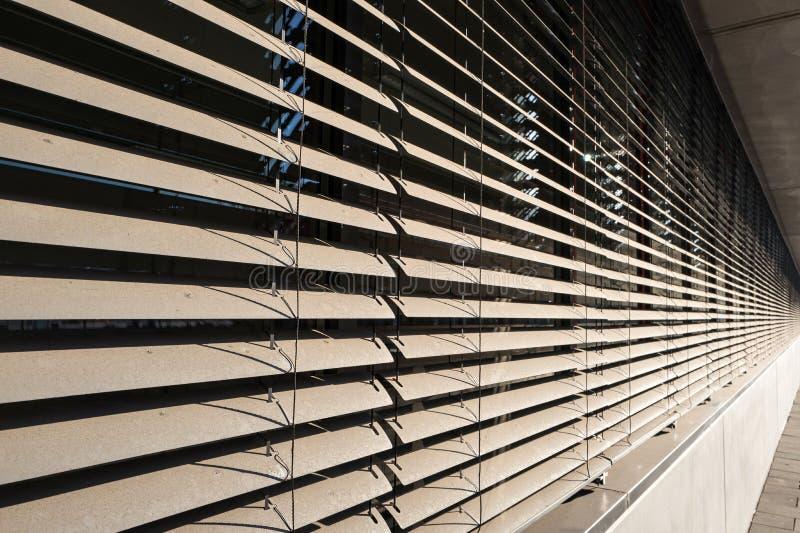 Τυφλοί παραθύρων στοκ εικόνα με δικαίωμα ελεύθερης χρήσης