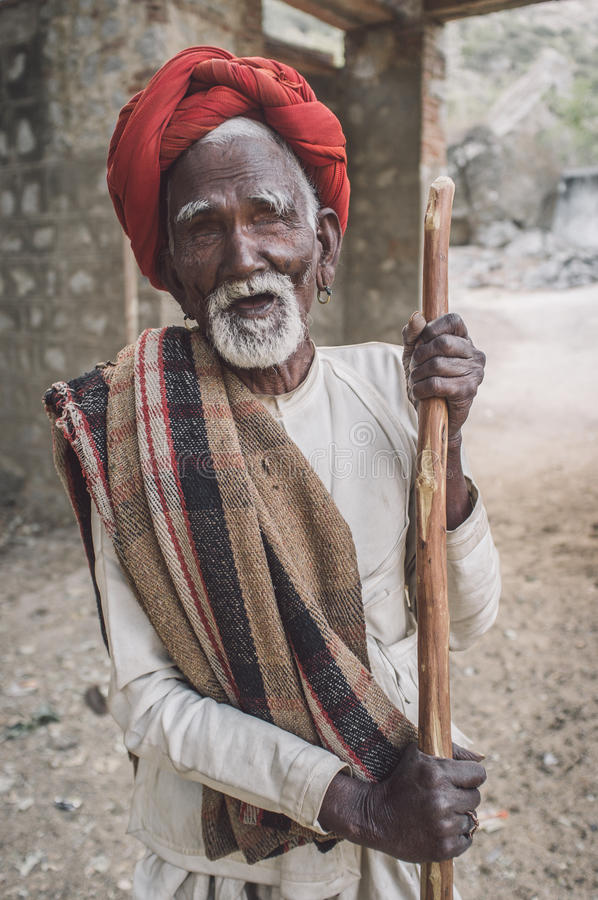 Τυφλός φυλέτης Rabari στοκ φωτογραφία με δικαίωμα ελεύθερης χρήσης