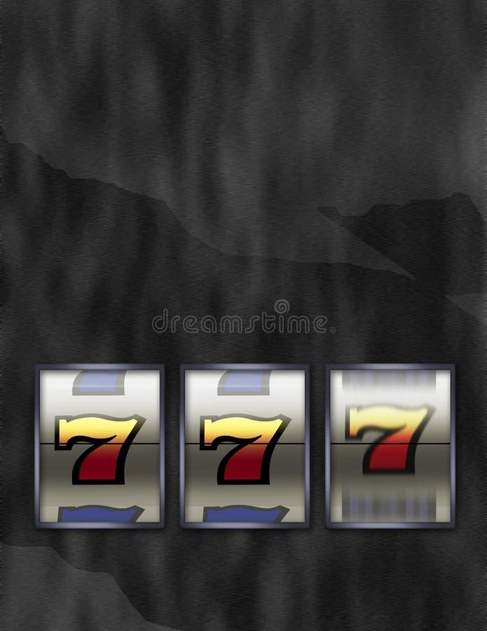 τυχερή αυλάκωση μηχανών τζ& απεικόνιση αποθεμάτων