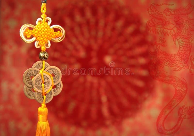 Τυχερός κόμβος για το κινεζικό νέο έτος στοκ φωτογραφία
