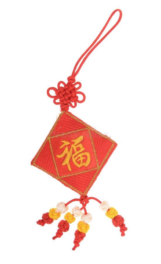 Τυχερός κόμβος για το κινεζικό νέο έτος στοκ φωτογραφίες