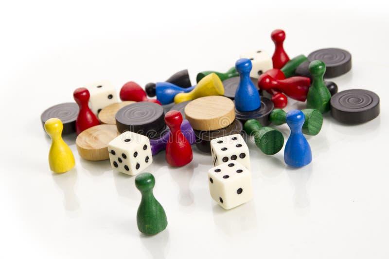 τυχερό παιχνίδι αριθμών στοκ εικόνα με δικαίωμα ελεύθερης χρήσης