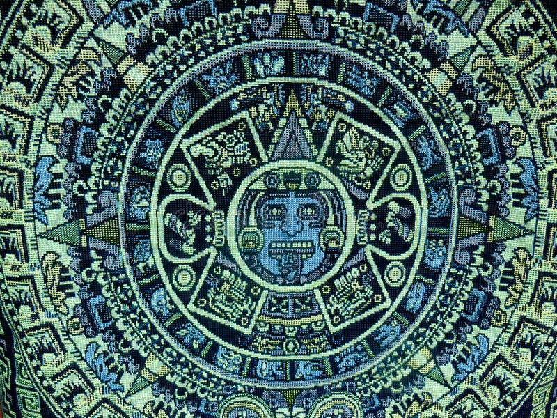 Των Αζτέκων των Μάγια ημερολόγιο στοκ φωτογραφία