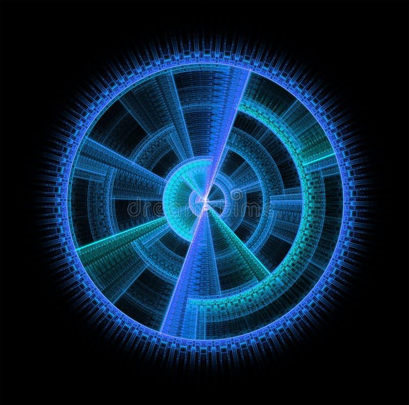 των Αζτέκων μπλε ελεύθερη απεικόνιση δικαιώματος