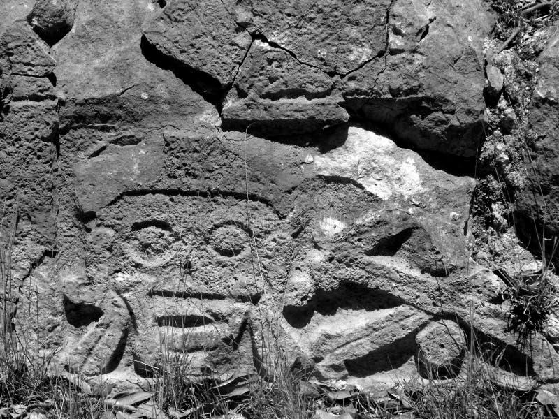 Των Μάγια καταστροφές Uxmal νεκροταφείων στοκ φωτογραφία με δικαίωμα ελεύθερης χρήσης