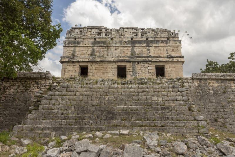 Των Μάγια μονή καλογραιών σε Chichen Itza στοκ εικόνα με δικαίωμα ελεύθερης χρήσης