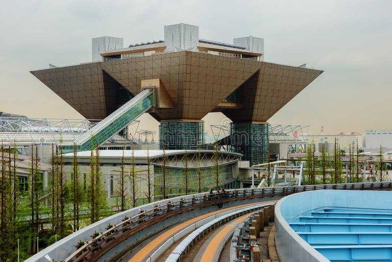 Τόκιο Διεθνές κέντρο Συνθηκών και έκθεσης στοκ εικόνες