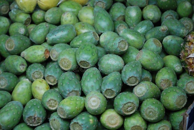 Τόνοι κάκτων σε μια μεξικάνικη αγορά στοκ φωτογραφία με δικαίωμα ελεύθερης χρήσης