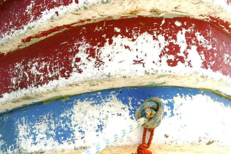 Τόξο του τοπικού αλιευτικού σκάφους στοκ εικόνες με δικαίωμα ελεύθερης χρήσης