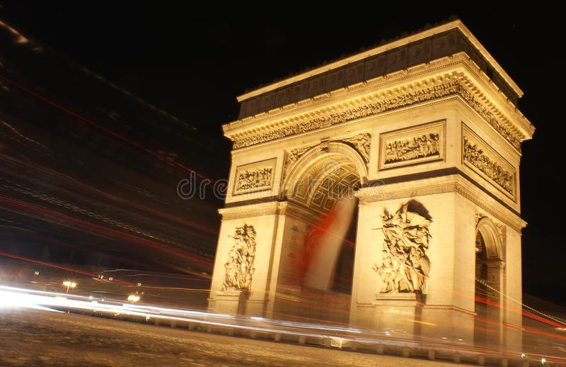 Τόξο de triomphe στοκ φωτογραφία με δικαίωμα ελεύθερης χρήσης