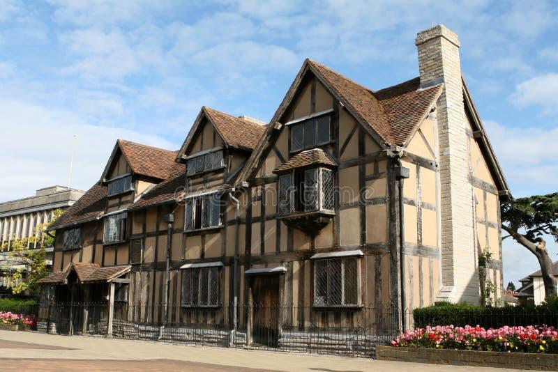 τόπος γεννήσεως s Shakespeare William στοκ φωτογραφία με δικαίωμα ελεύθερης χρήσης