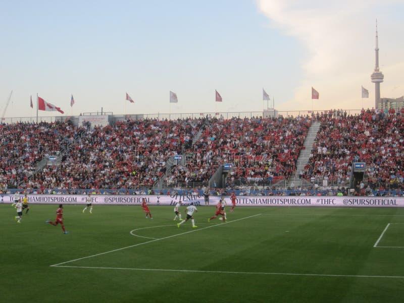 Τόττεναμ Hotspur στο Τορόντο FC στοκ εικόνες