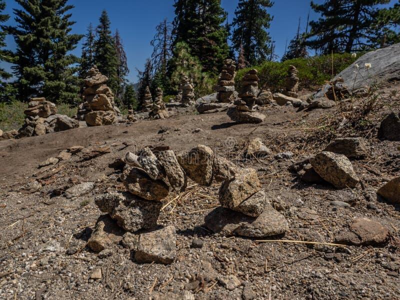 Τύμβοι βράχου στοκ φωτογραφία