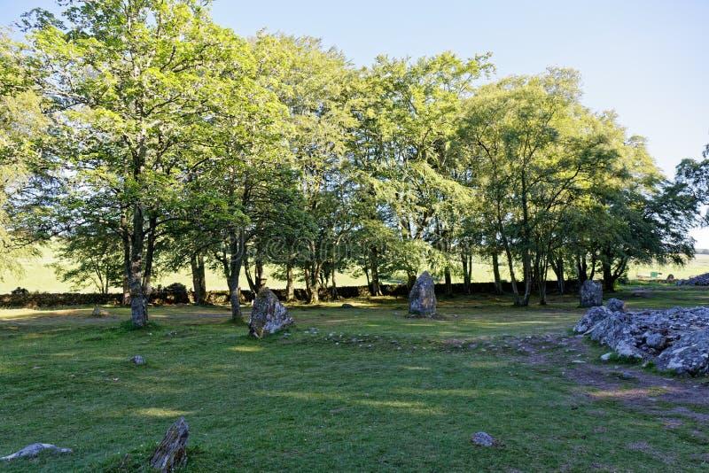 Τύμβοι Clava - Iνβερνές, Σκωτία στοκ φωτογραφίες