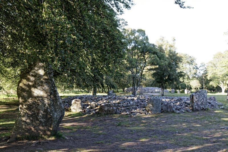 Τύμβοι Clava - Iνβερνές, Σκωτία στοκ φωτογραφία με δικαίωμα ελεύθερης χρήσης