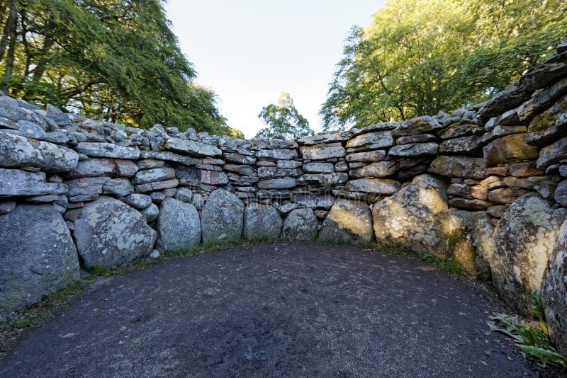 Τύμβοι Clava - Iνβερνές, Σκωτία στοκ εικόνα με δικαίωμα ελεύθερης χρήσης