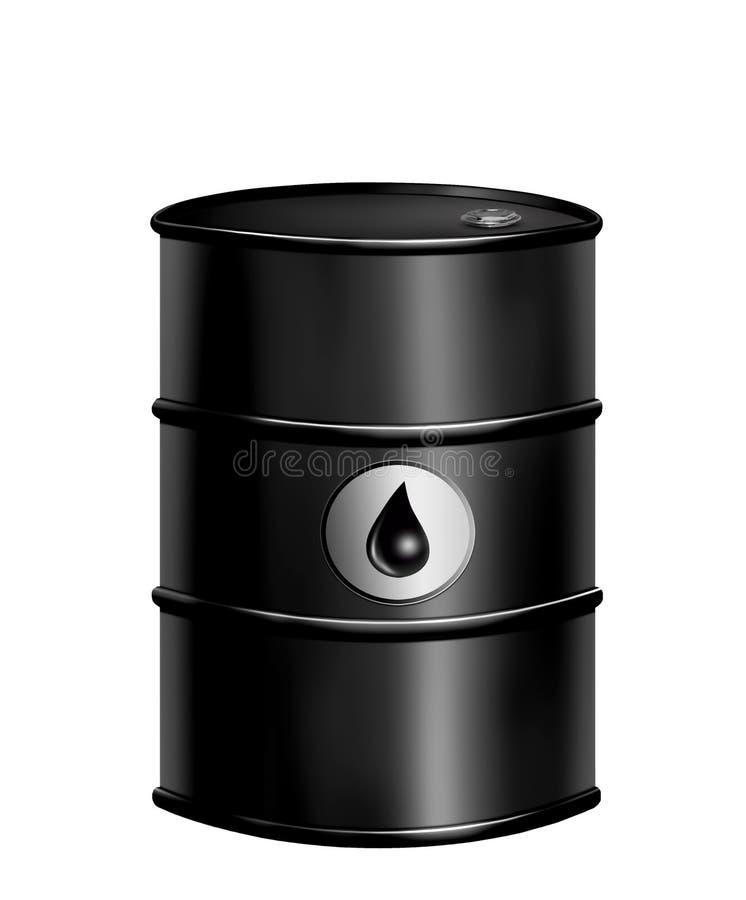 Τύμπανο βαρελιών πετρελαίου στοκ εικόνες με δικαίωμα ελεύθερης χρήσης