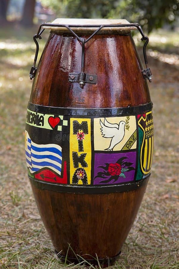 Τύμπανο Candombe στοκ φωτογραφίες