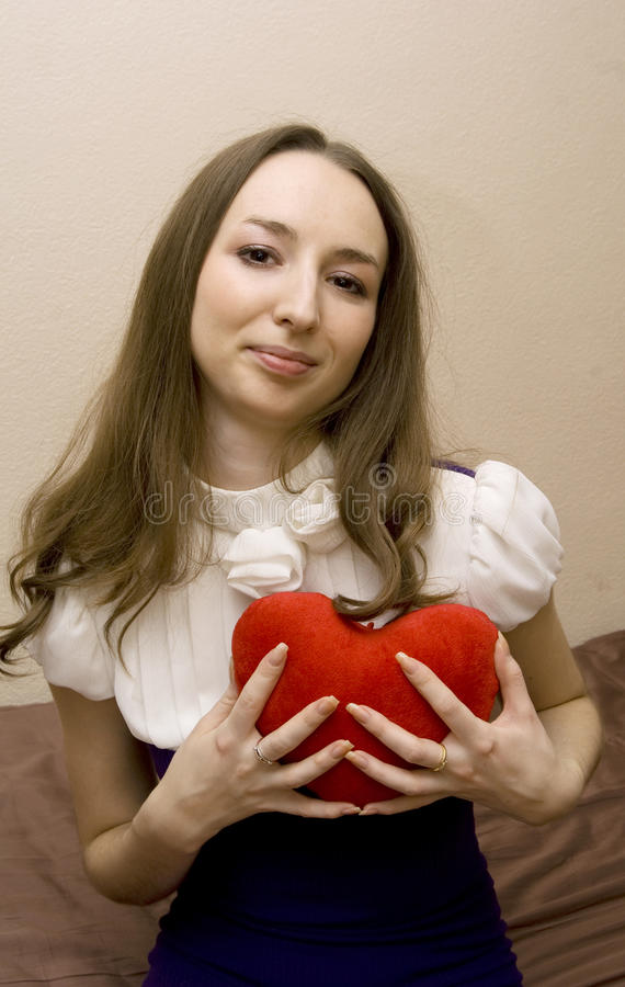Τύποι καρδιών κοριτσιών στοκ φωτογραφία με δικαίωμα ελεύθερης χρήσης