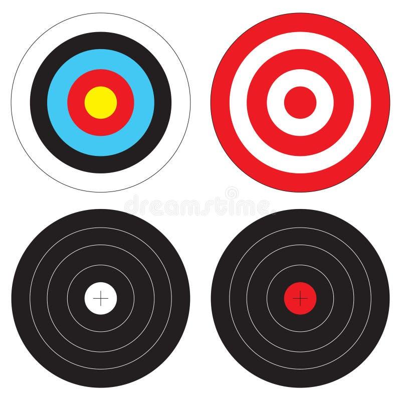τύποι στόχων ελεύθερη απεικόνιση δικαιώματος