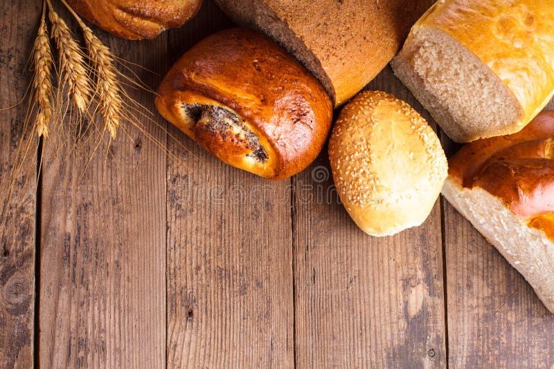 Τύποι ψωμιών στοκ εικόνα με δικαίωμα ελεύθερης χρήσης