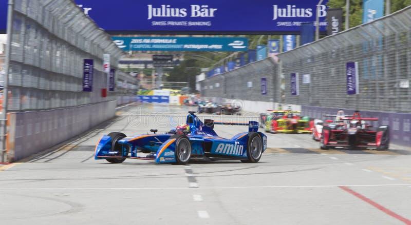 Τύπος Ε raceday Putrajaya, Μαλαισία FIA στοκ εικόνες
