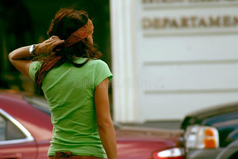 τύπος μόδας Hippie Στοκ εικόνα με δικαίωμα ελεύθερης χρήσης