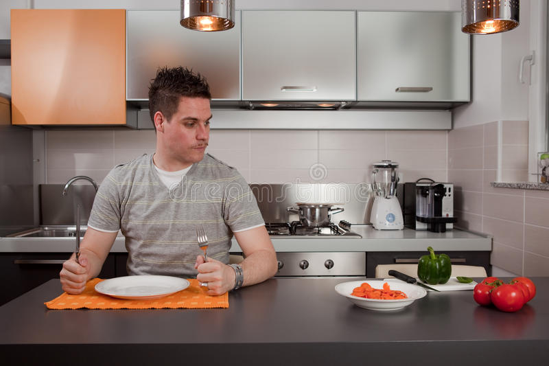 τύπος πεινασμένος στοκ φωτογραφία με δικαίωμα ελεύθερης χρήσης