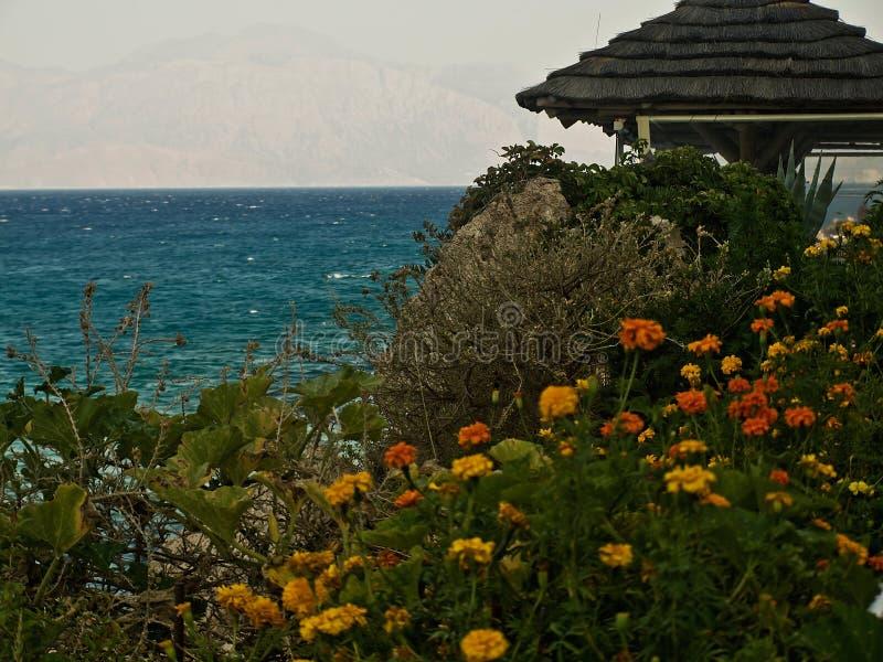 Τύπος της θάλασσας της Κρήτης στοκ εικόνα