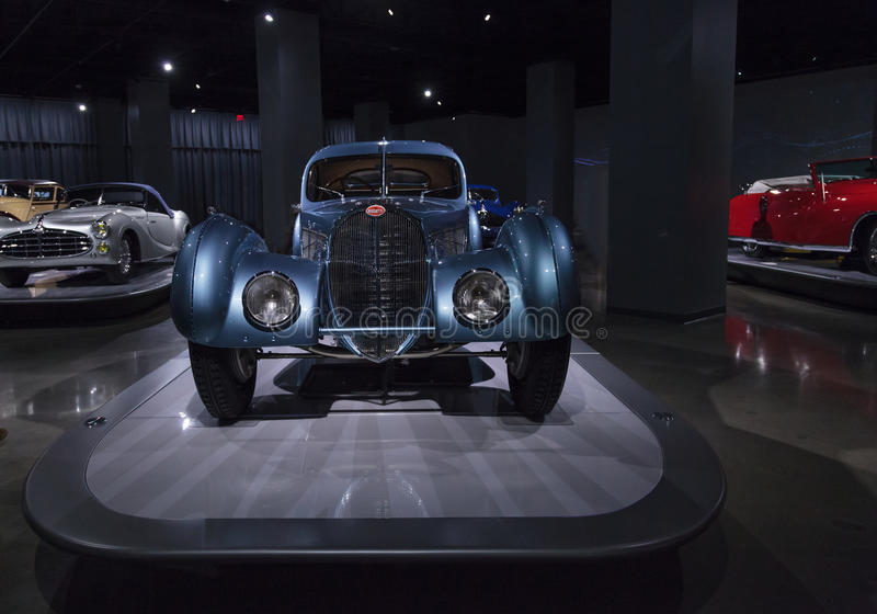 1936 τύπος 57SC Ατλαντικός Bugatti στοκ φωτογραφία με δικαίωμα ελεύθερης χρήσης