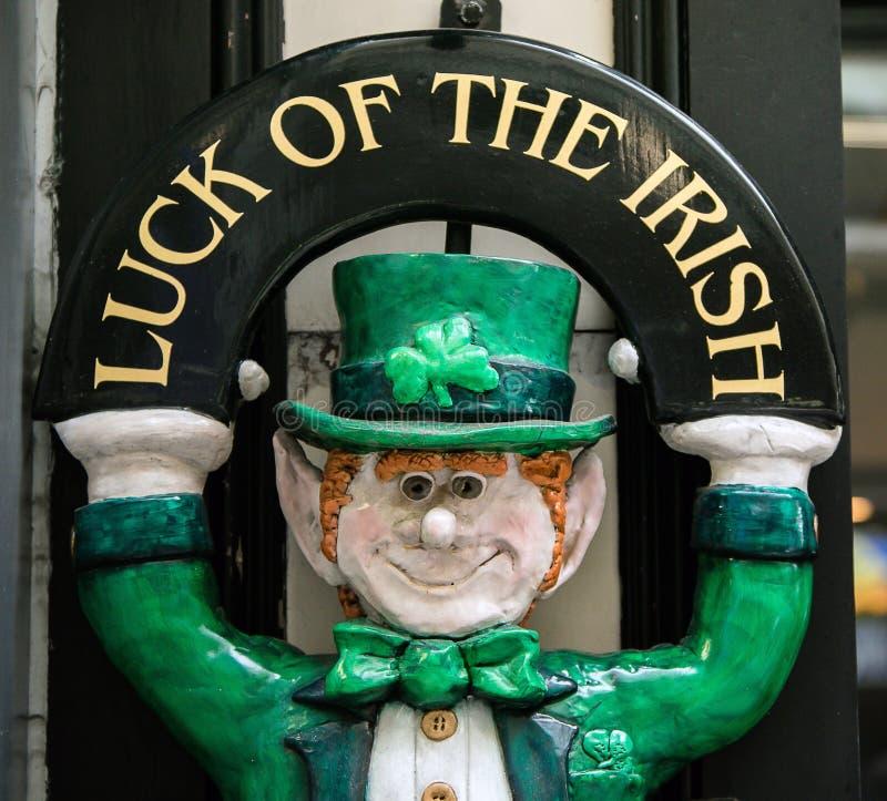 Τύχη του ιρλανδικού ειδωλίου στοκ φωτογραφία