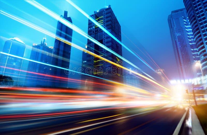 Τώρα η πόλη τη νύχτα στοκ φωτογραφία με δικαίωμα ελεύθερης χρήσης