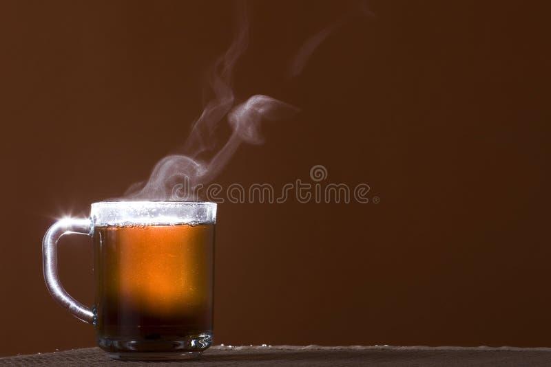 υαλώδες τσάι φλυτζανιών στοκ εικόνες με δικαίωμα ελεύθερης χρήσης