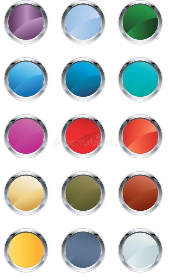Υαλώδη κουμπιά απεικόνιση αποθεμάτων